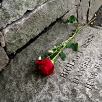 Photo taken at Salem Witch Trials Memorial by Rafael S. on 9/16/2013