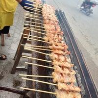 Photo taken at หมูปิ้งอัญชลี อร่อยที่สุดใน 3 โลก by Noinaa^^ on 12/3/2012