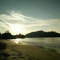 Photo taken at Teluk Dalam Beach Resort by Nor S. on 5/28/2016