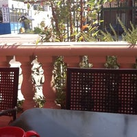 Photo taken at El Patio Restaurante/Cafe by Erika C. on 9/29/2012