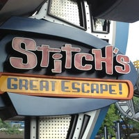 Photo taken at Stitch's Great Escape! by @jason_ on 7/7/2013