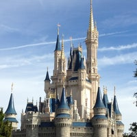 Photo taken at Cinderella Castle by @jason_ on 12/28/2012