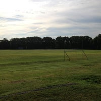 Photo taken at Hollis Field by Alex J. on 6/18/2013