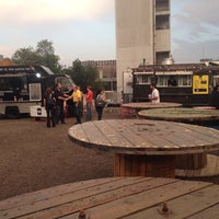 Photo taken at Firehouse Food Truck by Jorge P. on 5/12/2014