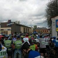 Photo taken at SEB MTB Maratons 2.posms by Jānis B. on 5/11/2014