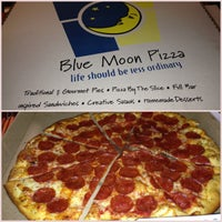 Photo taken at Blue Moon Pizza by TJ on 4/20/2013