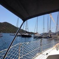 7/27/2013 tarihinde Levent O.ziyaretçi tarafından Kaş Setur Marina'de çekilen fotoğraf