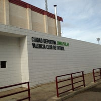 Photo taken at Ciudad Deportiva Valencia C.F by Pedro J. G. on 12/15/2012