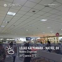 Foto tirada no(a) Lojas Kacyumara - Matriz por Celso R. em 8/15/2014
