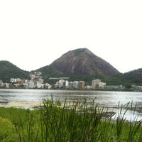 Photo taken at Parquinho Da Lagoa by Gustavo R. on 12/12/2012