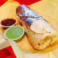 Photo taken at El Beach Burrito #BeachBurritoSF by Adam S. on 12/14/2014