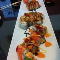 Photo taken at Crazy Mike's Sushi by Kelly V. on 4/19/2013