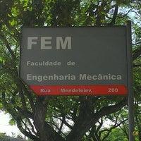 Photo taken at Faculdade de Engenharia Mecânica (FEM) by Diego B. on 10/8/2015