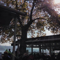 Photo taken at Emirgan Sütiş by Sener O. on 10/30/2013