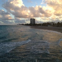 Photo taken at Dania Beach Pier by Toby S. on 1/16/2013