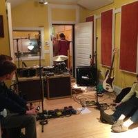Photo taken at Mobtown Studios by Patrick M. on 12/14/2012
