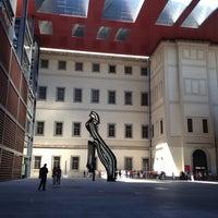 Photo taken at Museo Nacional Centro de Arte Reina Sofía (MNCARS) by Norma D. on 5/24/2013