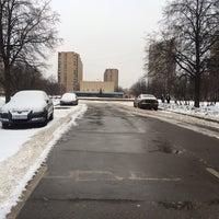 Photo taken at Площадь Академика Вишневского by Андрей Щ. on 1/5/2014
