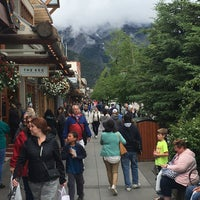 Photo taken at Town of Banff by Brad on 7/3/2018