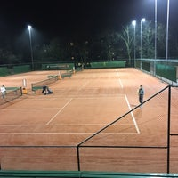 Photo taken at ETC Edese Tennis Club by Ruud K. on 2/20/2017