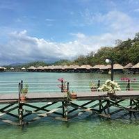 Photo taken at Gayana Eco Resort by Ruud K. on 5/2/2016