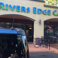 Photo taken at Rivers Edge Cafe & Espresso by Greg on 8/29/2013