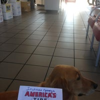 Photo taken at America's Tire Store by Greg on 7/17/2013
