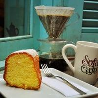 Photo taken at Sofá Café by Diego G. on 7/27/2013