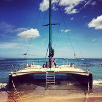 Photo taken at Maita'i Catamaran by Clement N. on 7/28/2013