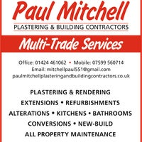 Photo taken at Paul Mitchell Plastering & Building Contractors by Paul Mitchell Plastering & Building Contractors on 2/25/2016