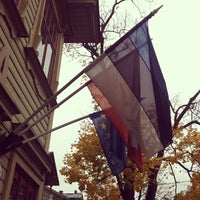 Photo taken at Villa Margaretha Hotel Tartu by Sergio F. on 10/10/2012