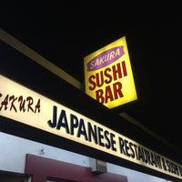 Photo taken at Sakura Japanese Restaurant by WorldTravelGuy on 2/19/2015