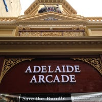Photo taken at Adelaide Arcade by WorldTravelGuy on 2/1/2013
