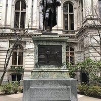 Photo taken at Benjamin Franklin Statue by Karim on 12/29/2016