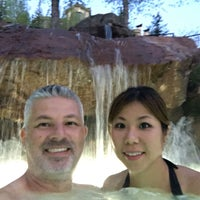 Photo taken at Park Hyatt Beaver Creek Pool by WorldTravelGuy on 5/26/2016
