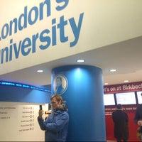 Photo taken at Birkbeck, University of London by MiTeTy M. on 1/9/2013