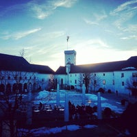Photo taken at Ljubljana Castle by Misho Z. on 1/31/2013