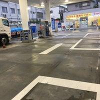 Photo taken at ESSO Express 川崎石油(株) カーステージ松戸SS by 大山 on 8/14/2017