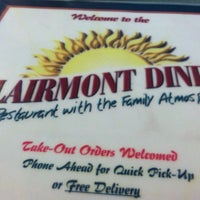 Photo taken at Clairmont Diner by Chris S. on 10/6/2012