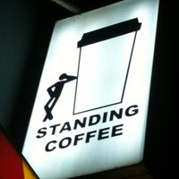 Photo taken at STANDING COFFEE by Yoon L. on 10/21/2012