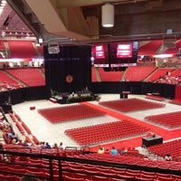 Photo taken at TTU - United Supermarkets Arena by Caisey R. on 5/17/2013