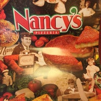 Photo taken at Nancy's Pizzeria by Drew P. on 10/22/2014
