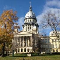 Photo taken at Illinois State Capitol by Drew P. on 10/27/2012