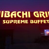 Photo taken at Hibachi Grill Supreme Buffet by Drew P. on 3/28/2017