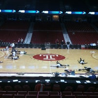 The Liacouras Center College Basketball Court In North