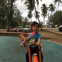 Photo taken at Playground Pantai Teluk Ketapang by Yana H. on 2/28/2017