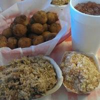 Photo taken at Little Richard's Lexington BBQ by Andrew D. on 10/6/2012