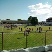 Photo taken at Estádio Francisco Vasques (Souza) by Lucas A. on 6/15/2013