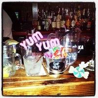Photo taken at Double Wide Bar & Southern Kitchen by Cherish W. on 10/29/2012