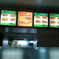 Photo taken at Subway by Danielle A. on 8/18/2014